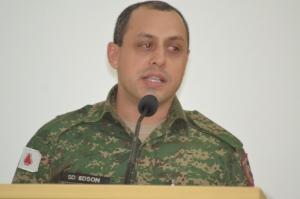 Soldado Edson falou sobre algumas atividades do Projeto APROMAT, agora, conforme aprovado pela Câmara, Utilidade Pública Municipal.