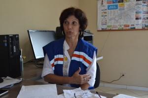 Coordenadora da Defesa Civil faz recomendações à população.