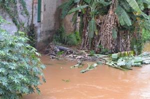 Enchentes: além da possibilidade de inundação foi destacado também o alto risco de movimentos de massa, ou seja, deslizamentos de terra.