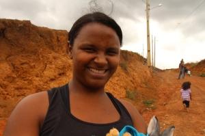 Luana declara que a situação está ruim em diversos bairros de Matipó.