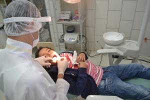 Unidade de Realeza também oferece serviços odontológicos.