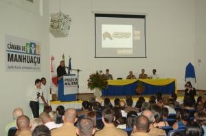 Público massivo compareceu na formação dos novos sargentos.