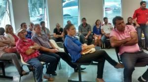 Diversos doadores e funcionários acompanharam o evento.