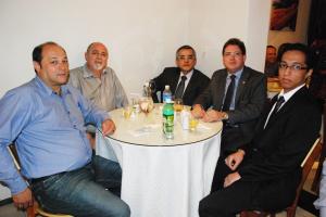 – Presidente da Subseção, Alex Barbosa de Matos, e demais advogados.