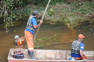 limpeza rio - foto 2