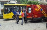 Mulher é atropelada por ônibus no Coqueiro