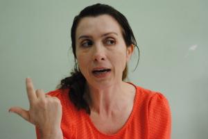 Janaína fala sobre os propósitos da campanha.