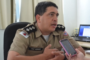 Capitão Schuab fala sobre aumento de efetivo no período natalino para garantir mais segurança à população.