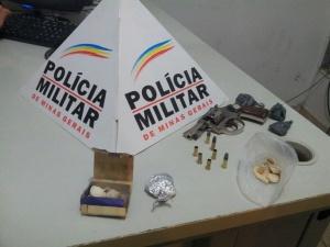 Armas e drogas  foram localizadas na casa do menor.