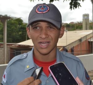 Despedida: sargento Sanchez será um dos transferidos para Muriaé.