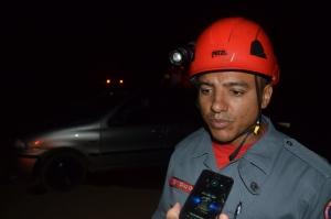 Sargento Dias relatou como foi o socorro às vítimas.