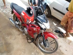 Ciclomotor foi localizado em Reduto.