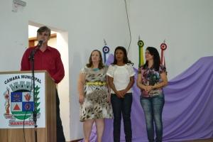 O prefeito Nailton Heringer desejou boas-vindas ao grupo.