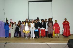 Grupo de Teatro Priadi, de Marilac faz belíssima apresentação no anfiteatro da Câmara.