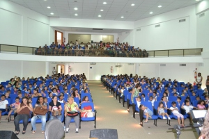 Público que assistiu as apresentações se impressionou com a desenvoltura do grupo.