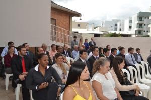 Diversos advogados da Ordem acompanharam o evento.