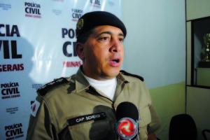 – Capitão Schuab relatou processo de apreensão do material e da condução de 11 pessoas envolvidas.