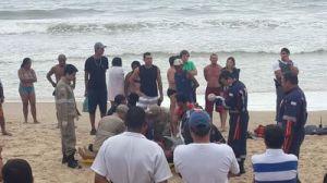 Euzimar José Cunha Oliveira, de 26 anos, morreu ao se afogar em Guarapari.