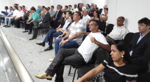 Houve expressivo comparecimento de cidadãos e representantes de segmentos sociais à reunião.