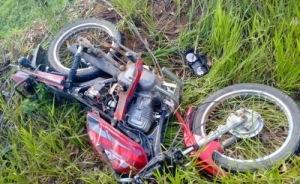 Motocicleta era conduzida pelo garoto, de apenas 14 anos.