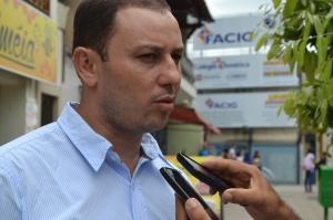 Investigador da PC, Reinaldo de Melo, falou sobre diligências para rastreamento do autor do roubo.