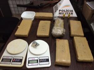 apreensao sete quilos drogas - foto 4
