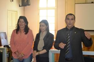 Diretora e vice diretora da APAC, Maria Imaculada e Dra. Denise são empossadas por juiz da vara Criminal da Comarca, Dr. Walteir Silva