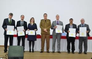 11º Batalhão homenageou parceiros como membros do Poder Judiciário, Prefeitura de Manhuaçu, Ministério Público e AABB e UBA.
