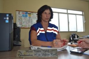 Maria Tereza Nacif, coordenadora da Defesa Civil