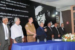 A cerimônia foi conduzida pelo Presidente Luiz Amorim e teve a presença de diversas autoridades.