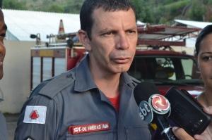 Sargento Freitas ressalta que trabalho do Corpo de Bombeiros é sempre ajudar as pessoas.