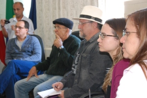 Participaram da reunião analistas de educação da SRE Manhuaçu e representantes do Instituto PAGUS