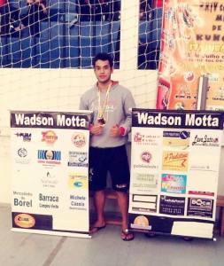 Wadson Motta é atleta desde os 15 anos.