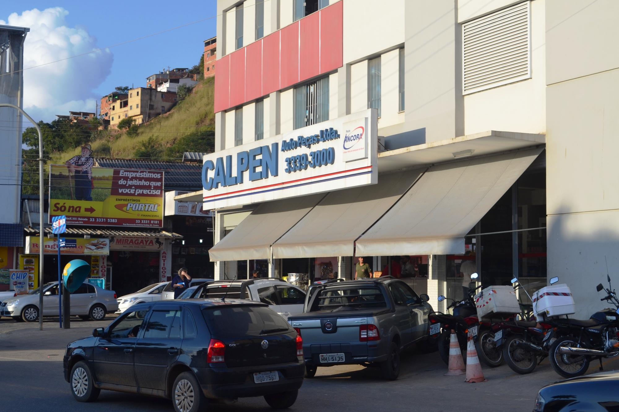 Entre as empresas de Manhuaçu que investem no mercado on line, está a Calpen Auto Peças
