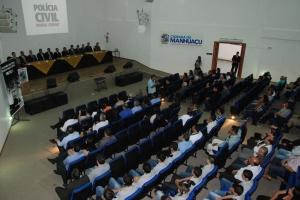 O evento contou com a presença de autoridades de toda a região, que prestigiaram e deram boas-vindas ao novo delegado regional