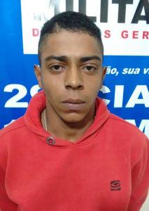 Dionathan Júnior de Paula da Silva, conhecido como Natan, foi preso nesta terça-feira (04).
