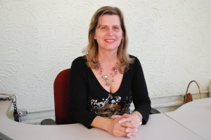 Monica é professora há 30 anos e foi a diretora de pessoal na curta gestão de Clóvis afrente da SRE Manhuaçu