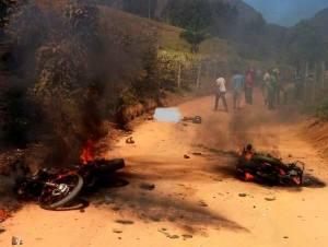O acidente aconteceu no trecho da estrada do córrego São Paulo, na zona rural de Santa Margarida