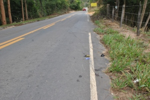 O ciclista foi atropelado no km 5 da MG-111.