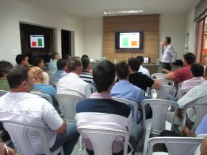 Participantes tiveram oportunidade de conhecer proposta de trabalho da empresa
