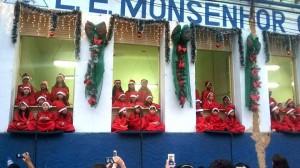 """No repertório, música como """"Noite Feliz"""", """"Bom Natal"""" e """"Bate o Sino"""""""
