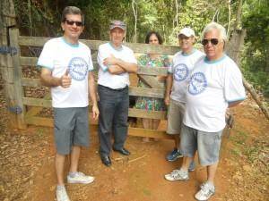 Membros da diretoria da ONG Pró-Rio Manhuaçu