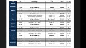 Calendário da FMBx
