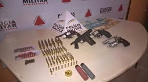 Um homem de 69 anos seria suspeito de negociar armas e munições de forma ilegal