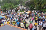 Protesto contra o Governo do Estado