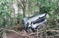 Acidente na rodovia entre Lajinha e Chalé