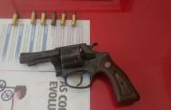 PM de Orizânia apreende arma de fogo
