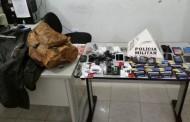 PM recupera produtos furtados em loja