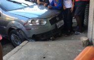 Adolescente é atropelada no Bairro Santa Luzia