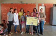 Estudantes vencedores do concurso de cartazes são premiados na EM Ponte da Aldeia